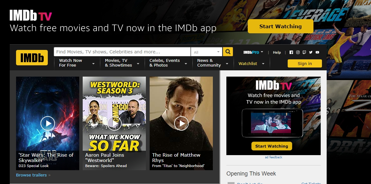 Must Visit Website Imdb